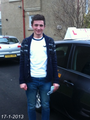 NATHAN HOWIE-IRVINE-17th JAN2013 1ST TIME PASS